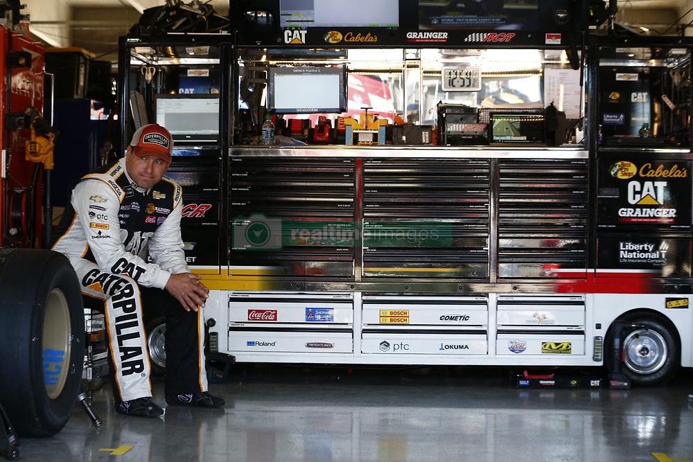 November 2, 2018 - Ft. Worth, Texas, United States of America - Ryan Newman (31) hangs out in the garage during practice for the AAA Texas 500 at Texas Motor Speedway in Ft. Worth, Texas. (Credit Image: © Justin R. Noe Asp Inc/ASP via ZUMA Wire)