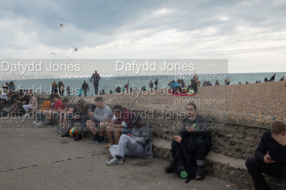 Playing Pokemon, Brighton 30 July 2016