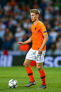 Netherlands Midfielder Frenkie de Jong (Ajax) during the UEFA Nations League semi-final match between Netherlands and England at Estadio D. Afonso Henriques, Guimaraes, Portugal on 6 June 2019.