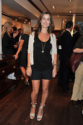 FI DRUMMOND at a party to celebrate the launch of the new Mauritius Collection of jewellery by Forbes Mavros held at Patrick Mavros, 104-106 Fulham Road, London SW3 on 5th July 2011.