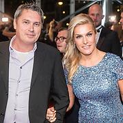 NLD/Amsterdam/20161013 - Televiziergala 2016, Lucille Werner en partner Servaas Snoeijers