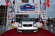 Simon Larsen Rally Sport i Tjekkiet 2012