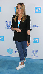 April 20, 2018 - Los Angeles, California, USA - 4/19/18.Jennifer Aniston at ''We Day California'' in Los Angeles, CA. (Credit Image: © Starmax/Newscom via ZUMA Press)