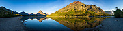 Two Medicine Lake-Panorama 1