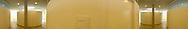 Deutschland, DEU, Berlin, 2003: Operationsraum in der Tierklinik; Blickwinkel 300 Grad. Das Berliner Tierheim ist das groesste und modernste auf der Welt. | Germany, DEU, Berlin, 2003: Veterinarian department,operating room in the center, angle of view 300°. World's biggest and most modern animal shelter in Berlin. |