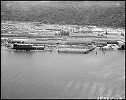 "Ackroyd 18335-13 ""FMC. aerials of yard 1000'. May 29, 1973."" (Gunderson, vicinity of new crane."