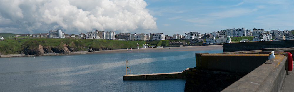 Port Erin from the south