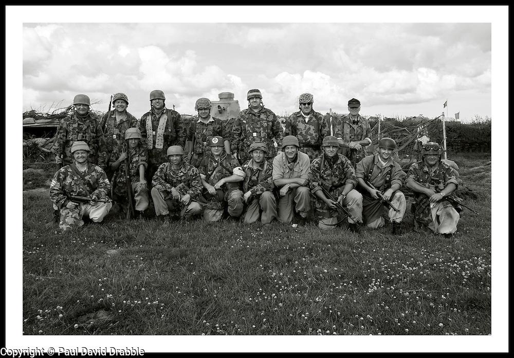 Yorkshire Wartime Experience Fallschirmjäger <br />  04 July 2015<br />  Image © Paul David Drabble <br />  www.pauldaviddrabble.co.uk