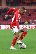 Middlesbrough midfielder Rajiv Van La Parra (29)in action during The FA Cup 3rd round match between Middlesbrough and Peterborough United at the Riverside Stadium, Middlesbrough, England on 5 January 2019.