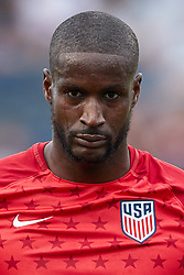 May 28, 2018 - Chester, PA, U.S. - CHESTER, PA - MAY 28: United States goalkeeper Bill Hamid (1) warms up prior to the international friendly match between the United States and Bolivia at the Talen Energy Stadium on May 28, 2018 in Chester, Pennsylvania. (Photo by Robin Alam/Icon Sportswire) (Credit Image: © Robin Alam/Icon SMI via ZUMA Press)