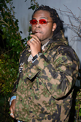 Gunna attending the Off-White Menswear Fall/Winter 2019-2020 show as part of Paris Fashion Week in Paris, France on January 16, 2019. Photo by Aurore Marechal/ABACAPRESS.COM