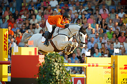Schroder Gerco, (NED), Glocks Cognac Champblanc<br /> Individual competition round 3 and Final Team<br /> FEI European Championships - Aachen 2015<br /> © Hippo Foto - Dirk Caremans<br /> 21/08/15