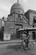 Egypt . Cairo : QANSUH ABU SAID MAUSOLEUM  in Bab al Wazir area in islamic Cairo