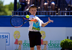 LIVERPOOL, ENGLAND - Sunday, June 24, 2018: James Rigby during day four of the Williams BMW Liverpool International Tennis Tournament 2018 at Aigburth Cricket Club. (Pic by Paul Greenwood/Propaganda)