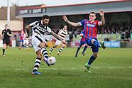 Dagenham and Redbridge v Forest Green Rovers 110317