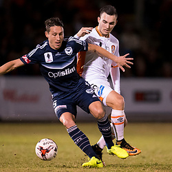 BRISBANE, AUSTRALIA - AUGUST 9:  during the Westfield FFA Cup Round of 32 match between Brisbane Roar and Melbourne Victory on August 9, 2017 in Brisbane, Australia. (Photo by Brisbane Roar / Patrick Kearney)