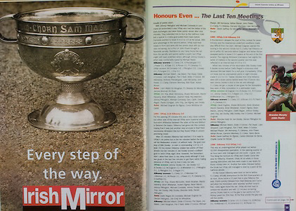 All Ireland Senior Hurling Championship - Final, .10.09.2000, 09.10.2000, 10th September 2000, .10092000AISHCF,.Senior Kilkenny v Offaly,.Minor Cork v Galway,.Kilkenny 5-15, Offaly 1-14, .Irish Mirror,