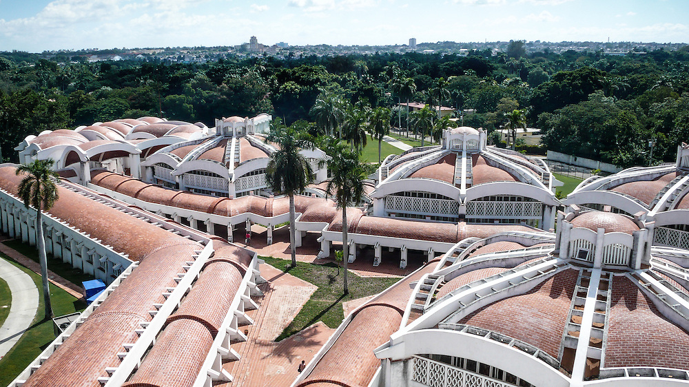 The National School of Modern Dance (1961-1965) was designed by Ricardo Porro in La Havana Cuba. Built during the early days of the Cuban Revolution and conceived as a symbol of what the new government was capable.