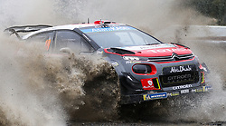 Citroen's Mads Ostberg on the Sweet Lamb stage during day three of the DayInsure Wales Rally GB. PRESS ASSOCIATION Photo. Picture date: Saturday October 6, 2018. See PA story AUTO Rally. Photo credit should read: David Davies/PA Wire. RESTRICTIONS: Editorial use only. Commercial use with prior consent from teams.