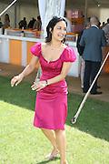 Archie Punjabi, The Veuve Clicquot Gold Cup 2007. Cowdray Park, Midhurst. 22 July 2007.  -DO NOT ARCHIVE-© Copyright Photograph by Dafydd Jones. 248 Clapham Rd. London SW9 0PZ. Tel 0207 820 0771. www.dafjones.com.