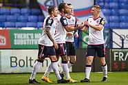 Bolton Wanderers v Southend United 281120