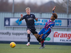 Falkirk's Craig Sibbald and Inverness Caledonian Thistle's Collin Seedorf. half time : Falkirk 0 v 0 Inverness Caledonian Thistle, Scottish Championship game played 27/1/2018 at The Falkirk Stadium.
