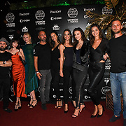 Team Phoenix attend the Official launch party for the annual Gumball 3000 Rally took place at Proud Embankment on August 4 2018, London, UK.