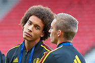 Axel Witsel of Belgium before the International Friendly match between Scotland and Belgium at Hampden Park, Glasgow, United Kingdom on 7 September 2018.