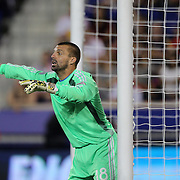 Goalkeeper Jon Busch, San Jose Earthquakes, in action during the New York Red Bulls Vs San Jose Earthquakes, Major League Soccer regular season match at Red Bull Arena, Harrison, New Jersey. USA. 19th July 2014. Photo Tim Clayton