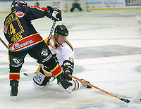 Hockey UPC-ligaen 22.09.05 Trondheim - Stavanger Oilers <br /> Jef Zorn, TIK og Teemu Kohvakka<br /> Foto: Carl-Erik Eriksson, Digitalsport