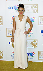Lizzie Armitstead during the BT Olympic Ball, held at the Grosvenor Hotel, London, UK, November 30, 2012. Photo By Anthony Upton / i-Images.