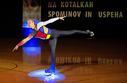 Andrea Girotto performs during special artistic roller skating event when Lucija Mlinaric of Slovenia, World and European Champion ended her successful sports career, on November 7, 2015 in Rence, Slovenia. Photo by Vid Ponikvar / Sportida