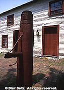 York, PA Historic Site, Barnett Bob Log House, Early American