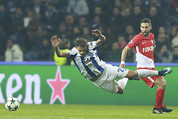 December 6, 2017 - Na - Porto, 06/12/2017 - Football Club of Porto received, this evening, AS Monaco FC in the match of the 6th Match of Group G, Champions League 2017/18, in Estádio do Dragão. Soares; João Moutinho  (Credit Image: © Atlantico Press via ZUMA Wire)