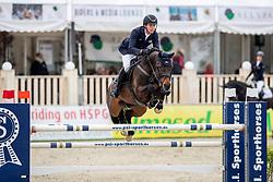 NIEBERG Gerrit (GER), Baynounah Fbh<br /> Hagen - Horses and Dreams 2019<br /> Preis der Pott´s Brauerei GmbH CSI2*<br /> Finale Mittlere Tour<br /> 28. April 2019<br /> © www.sportfotos-lafrentz.de/Stefan Lafrentz