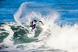 Wildcard Vahine Fierro (PYF) will surf in Round 2 of the 2018 Roxy Pro France after placing third in Heat 3 of Round 1 in Hossegor, France.