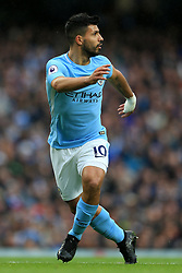 21st October 2017 - Premier League - Manchester City v Burnley - Sergio Aguero of Man City - Photo: Simon Stacpoole / Offside.