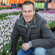 NLD/Amsterdam/20190119 - Nationale Tulpendag 2019, doop tulp Quinty Trustfull, Ivo Putman