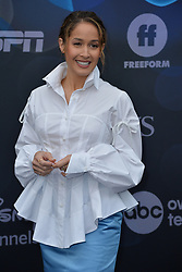 May 14, 2019 - New York, NY, USA - May 14, 2019  New York City..Jaina Lee Ortiz attending Walt Disney Television Upfront presentation party arrivals at Tavern on the Green on May 14, 2019 in New York City. (Credit Image: © Kristin Callahan/Ace Pictures via ZUMA Press)