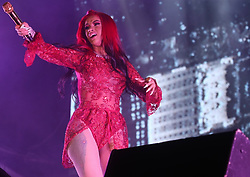 AU_1444871 - Perth, AUSTRALIA  -  Cardi B performs at Origin Fields Music and Culture Festival at Langley Park in Perth, Western Australia<br /> <br /> Pictured: Cardi B<br /> <br /> BACKGRID Australia 30 DECEMBER 2018 <br /> <br /> BYLINE MUST READ: FAITH MORAN / BACKGRID<br /> <br /> Phone: + 61 2 8719 0598<br /> Email:  photos@backgrid.com.au