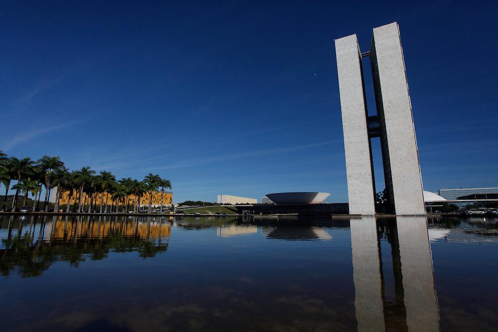 Brasilia_DF, Brasil.<br /> <br /> Palacio do Planalto, sede do Poder Executivo, localizado na Praca dos Tres Poderes, em Brasília, capital da Republica. <br /> <br /> Palacio do Planalto, headquarters of the Executive Branch of the Brazilian Government, located at the Praca dos Tres Poderes, in Brasília, Brazil.<br /> <br /> Foto: JOAO MARCOS ROSA / NITRO