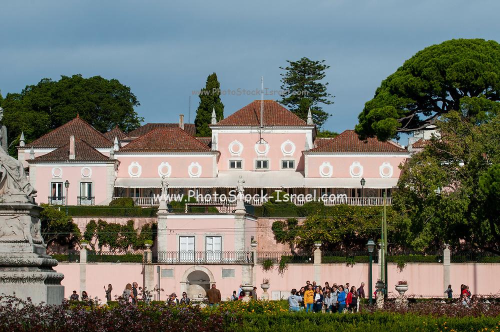 Belem Palace presidential residence, Lisbon. Portugal