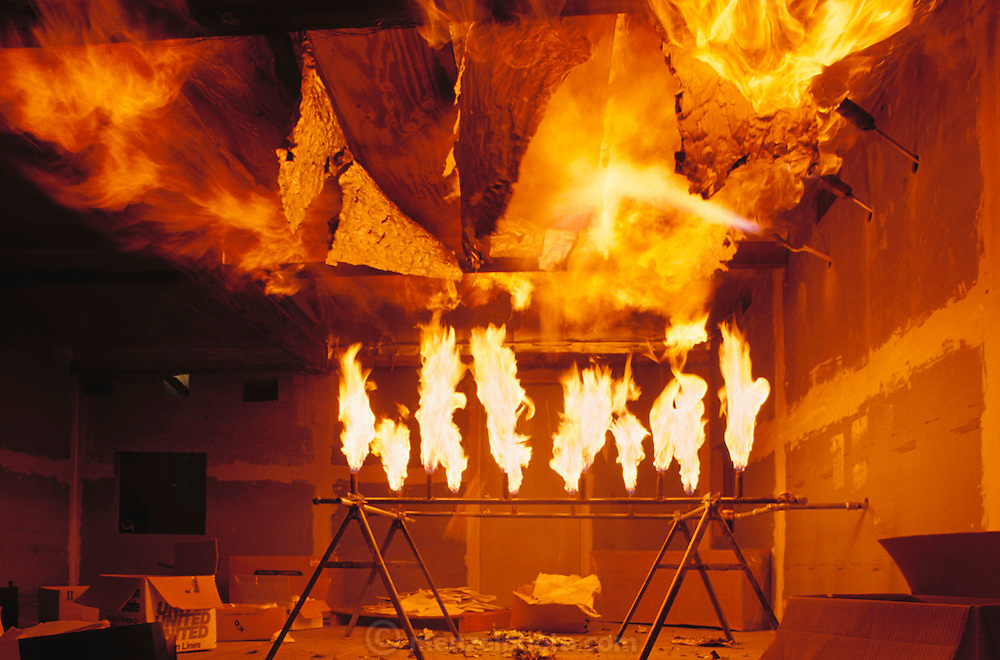 Failure Analysis Associates, Inc. (an engineering and scientific consulting firm now called Exponent)..Menlo Park, California. Insulation burn test.