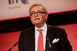 © Licensed to London News Pictures. 03/03/2016 London UK. John Longworth Director General British Chambers of Commerce speaks at The British Chamber of Commerce Annual Conference at The QE ll Conference Centre, Westminster.<br /> Photo credit : Simon Jacobs/LNP