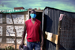 May 2, 2020, Alexandra, Johannesburg, South Africa: Wearing masks and applying social distancing is an extreme challenge in one of the most densely populated areas in South Africa. (Credit Image: © Manash Das/ZUMA Wire)