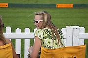 Abigail Dixon, The Veuve Clicquot Gold Cup 2007. Cowdray Park, Midhurst. 22 July 2007.  -DO NOT ARCHIVE-© Copyright Photograph by Dafydd Jones. 248 Clapham Rd. London SW9 0PZ. Tel 0207 820 0771. www.dafjones.com.