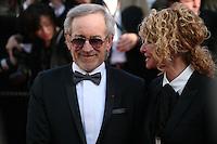 Steven Spielberg and Kate Capshaw at Venus in Fur - La Venus A La Fourrure film gala screening at the Cannes Film Festival Saturday 26th May May 2013