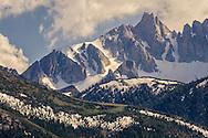 Matterhorn Peak, Humboldt-Toiyabe National Forest, Mono County, Eastern Sierra, California