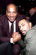 January 30, 2017-New York, New York-United States: (L-R) Earl G. Graves Jr., Publisher, Black Enterprise and Actor Omari Hardwick attend the National Cares Mentoring Movement 'For the Love of Our Children Gala' held at Cipriani 42nd Street on January 30, 2017 in New York City. The National CARES Mentoring Movement seeks to dispel that notion by providing young people with role models who will play an active role in helping to shape their development.(Terrence Jennings/terrencejennings.com)