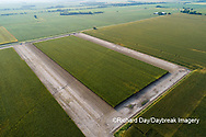 63801-10801 Corn field after it's been cut for silage-aerial Marion Co. IL